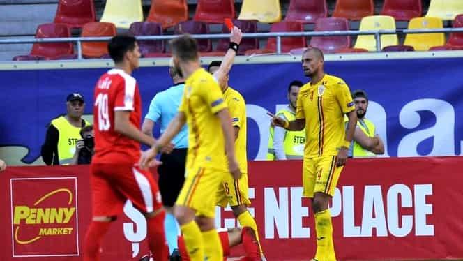 """Unde a petrecut Gabriel Tamaș după ce a fost eliminat în România – Serbia 0-0! """"Ești cel mai bun fundaș"""""""