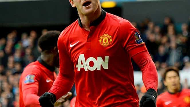Atmosferă TENSIONATĂ! Rooney îl ATACĂ pe Scholes
