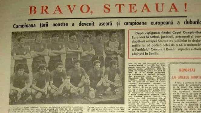 """7 mai 1986, cronica unei seri unice. Ce scria marele Ioan Chirilă în ziarul """"Sportul"""" + cui i-a fost dedicată victoria"""