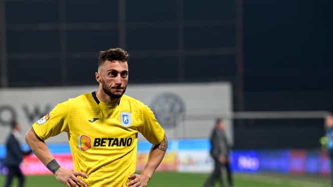 Mirko Pigliacelli, trimis la echipa a doua a Universității Craiova! Victor Pițurcă a confirmat FANATIK
