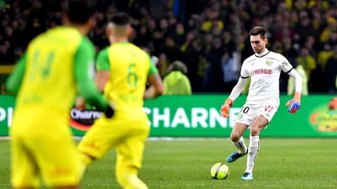 Video. Tătăruşanu nu se mai regăseşte! Ce a făcut la ultimul meci jucat de Nantes