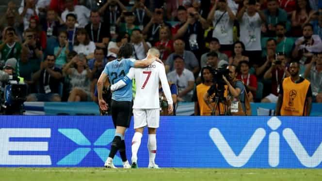 Ronaldo, aplaudat de tot stadionul la Uruguay-Portugalia 2-1! Ce gest a făcut