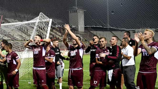 Rapid Bucureşti a câştigat derby-ul cu FCSB 2. Ce jucători a trimis Dică în Liga 3