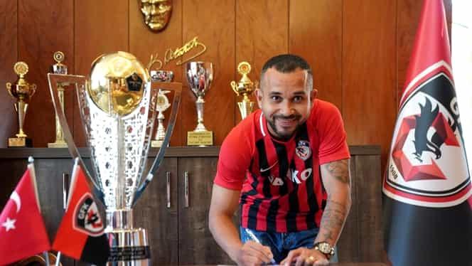 Junior Morais a semnat cu Gaziantep. FANATIK confirmat. Brazilianul a fost prezentat la noua echipă. FOTO