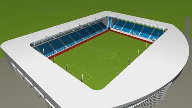 FC U Craiova își face stadion european! Noua arenă va avea 13.000 de locuri. GALERIE FOTO