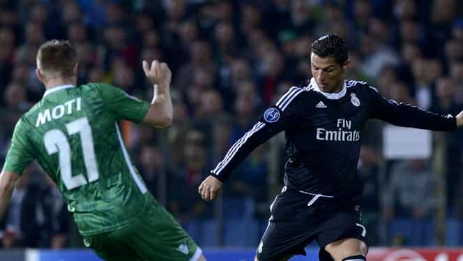 """Reacţia lui Ronaldo după meciul dificil cu Ludogoreţ: """"Nu i-am subestimat niciodată!"""""""