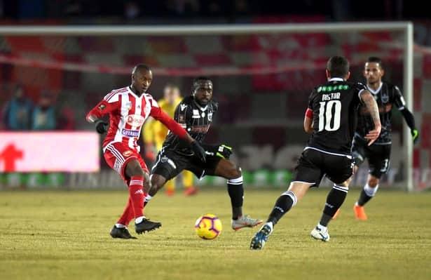 Ibrahima Tandia este cel mai dorit atacant din Liga I, chiar dacă Sespi a pierdut ultimul meci casă, 0-1 cu Dinamo. Amănunte, în revista FANATIK! Află unde ar vrea să joace Tandia!
