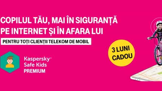 Telekom Romania introduce în oferte o aplicaţie de control parental. Părinții pot restricţiona acum accesul copiilor