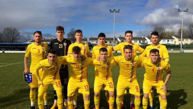 """Victorie pentru România U18 în amicalul cu Irlanda. """"Tricolorii"""" mici se pregătesc pentru Euro 2019"""