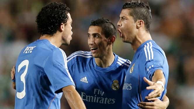Ronaldo marchează la Cotele Beton