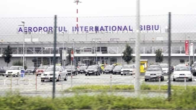 FOCURI DE ARMĂ în Aeroportul Internaţional Sibiu. ÎMPUŞCĂTURĂ auzită în terminalul de pasageri