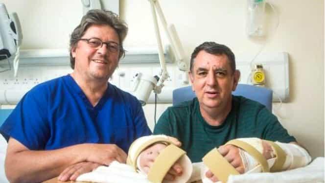 Premieră în medicină: Primul transplant dublu de mîini, realizat cu succes