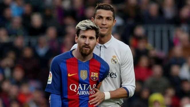 Foto. Messi i-a luat faţa lui Ronaldo! Argentinianul, model în vestiarul lui Manchester United