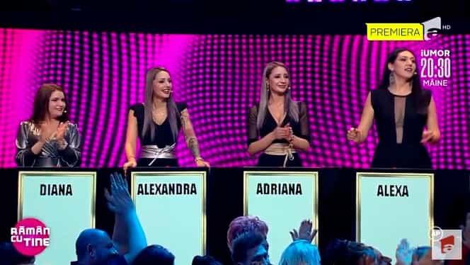 Alexandra și Adriana de la Puterea Dragostei, concurente într-o emisiune de la Antena 1. Imagini incredibile cu cele două surori