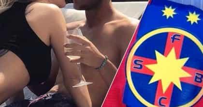 Iubita unui fost jucător al FCSB face videochat! Foto + video incendiar