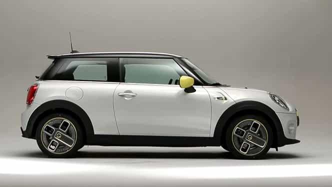 Cum arată noul BMW Mini Cooper SE! Mașina este 100% electrică. FOTO și VIDEO