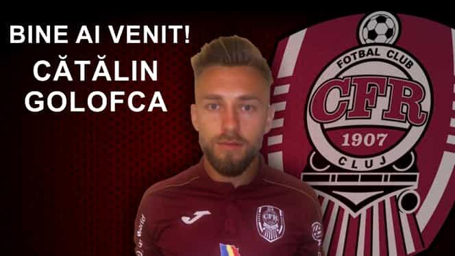 Cătălin Golofca, prezentat oficial la CFR Cluj. FANATIK confirmat