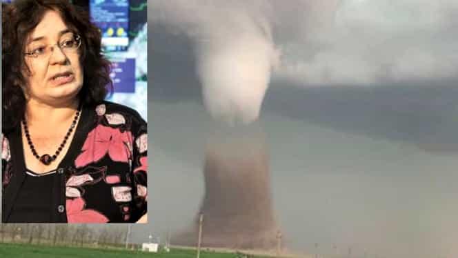 """Avertismentul unui climatolog: """"Ingredientele de formare a tornadelor există în orice regiune a României"""""""