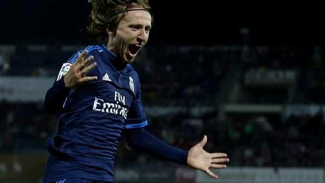 Super golul marcat de Modric, pe finalul meciului de la Granada, a asigurat profitul unui parior