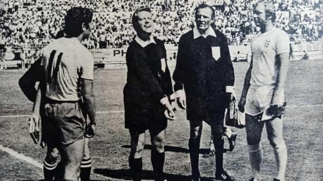 """50 de ani de la România – Anglia la """"Copa Mundial México 70"""". Prima promisă de brazilieni tricolorilor, acum este… caz de pușcărie! Video de colecție"""