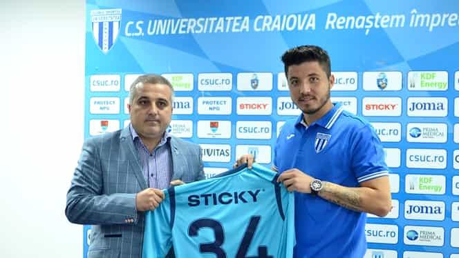 Bălgrădean şi-a închiat litigiul cu Dinamo! Vezi cînd debutează la CS U Craiova