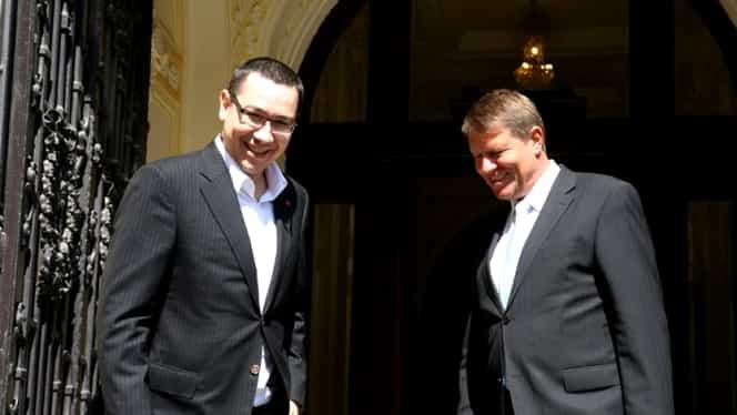 Victor Ponta a fost la Cotroceni, chiar inainte sa ajunga la DNA. Ce a discutat cu Klaus Iohannis