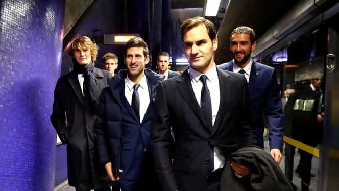 Mare surpriză în prima zi la Turneul Campionilor 2018. Roger Federer, învins de Key Nishikori