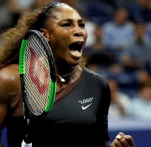 Serena Williams a jucat tenis contra a cinci bărbați. Video. Ce s-a întâmplat când americanca a servit