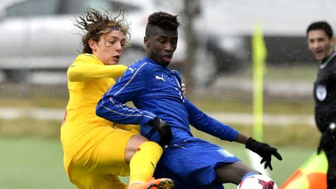 Îngheţarea sezonului în Ligue 1 are consecinţe pentru naţionala României. Un internaţional U17 a fost dat afară de la echipă