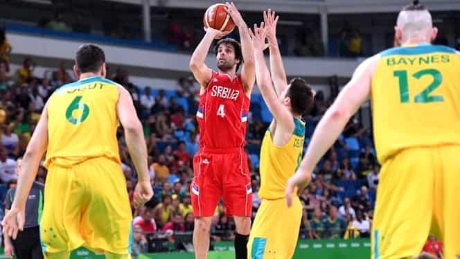 """Sîrbii au măcelărit Australia la baschet! În finala mare îi aşteaptă """"Dream Team-ul"""" american"""