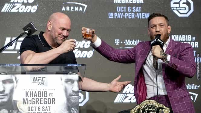 Conor McGregor a dat lovitura în afaceri! Noul său brand de whisky îi aduce bani buni