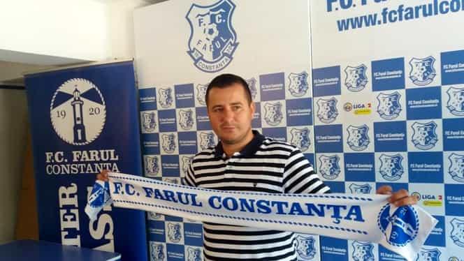 """Ianis Zicu, antrenor principal la Farul Constanţa! Prima reacție. """"Sper ca fanii să fie înțelegători!"""" FOTO"""