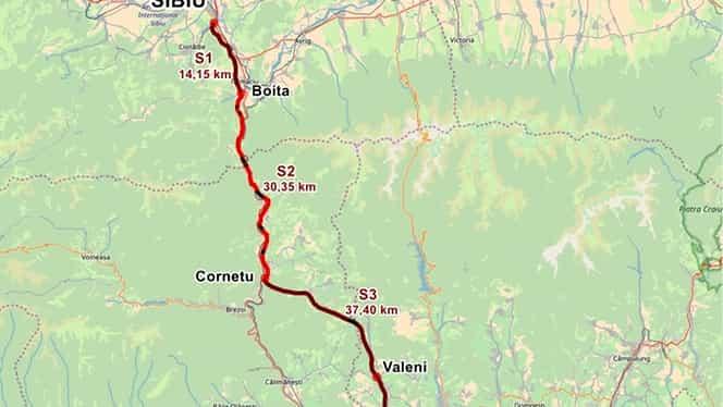 S-a scos la licitație lotul 3 al autostrăzii Sibiu-Pitești. Este cel mai mare contract pentru o autostradă din România