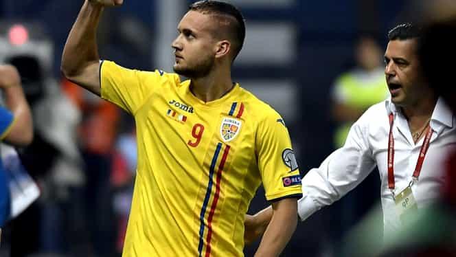 """George Pușcaș, lăudat de spanioli după România – Malta 1-0. """"Cel mai bun jucător al echipei!"""""""