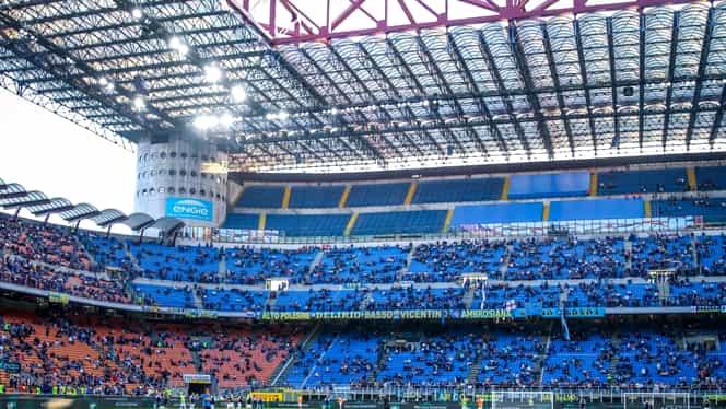 """Se demolează celebrul stadion din Milano """"San Siro & Giuseppe Meazza"""". Ce a cerut Primăria și cât va costa noua arenă"""