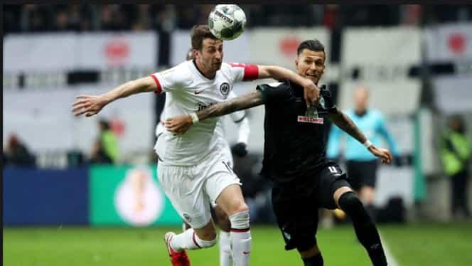 Live Blog Bundesliga etapa a 29-a. S-a terminat restanța Bremen – Frankfurt. Oaspeții s-au impus la scor de forfait. Vezi toate golurile si clasamentul actualizat. Video