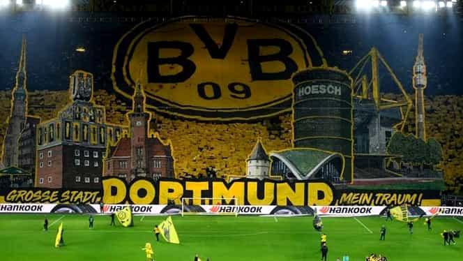 Borussia Dortmund conduce în clasamentul mediei spectatorilor din întreaga lume! Manchester United, singura echipă din Premier League prezentă în top