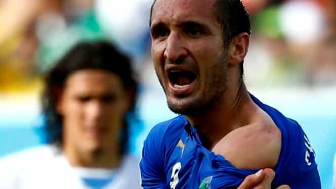 Declaraţie SURPRINZĂTOARE a lui Chiellini după ce a aflat de suspendarea lui Suarez!