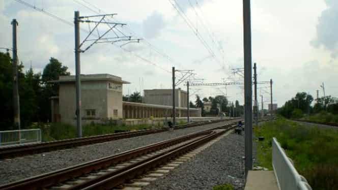 TRAGEDIE! Un bărbat a decedat după ce a fost lovit de un tren, în zona Gării Băneasa