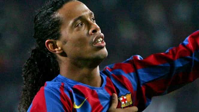 Ronaldinho, pe urmele lui Romario şi Bebeto. Ce ocupaţie are acum Dinţosul