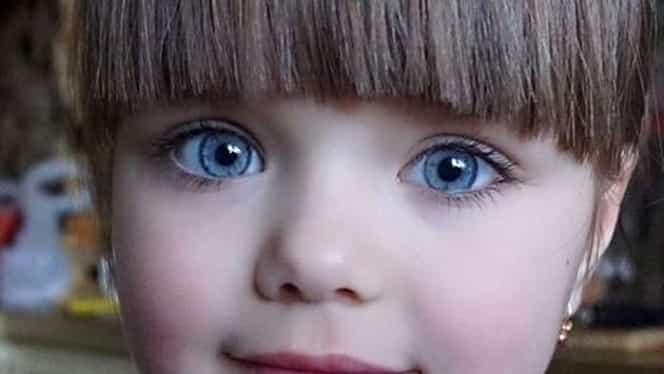 Cea mai frumoasă fetiţă din lume creşte rapid! Anastasia are 7 ani şi continuă să uimească!