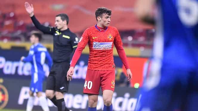 Gabriel Fulga, debutantul de 16 ani al FCSB-ului, a plecat în cantonament cu procură de la părinți! Exclusiv