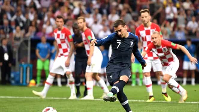 Franţa – Croaţia 4-2. Vezi rezumat video! Franţa, campioană mondială