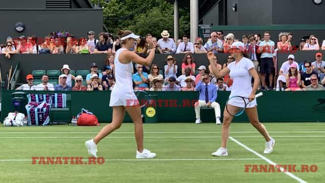 """Avem patru români în OPTIMI! Monica Niculescu și Irina Begu, în dialog cu FANATIK la Wimbledon: """"Am jucat ca în Fed Cup!"""" + Momentul neplăcut din meci: """"Unde eşti, Alex?"""""""