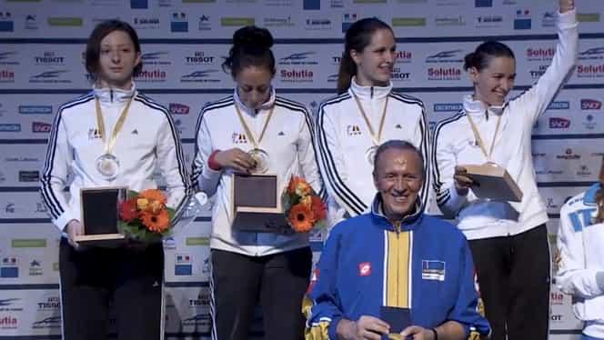 România, CAMPIOANĂ EUROPEANĂ la spadă feminin! Fetele de AUR au bătut Rusia în finală!