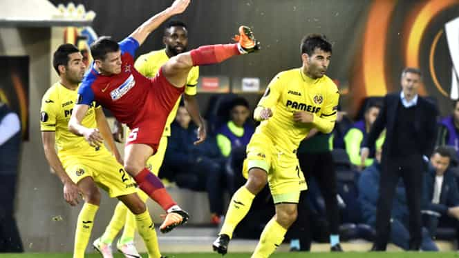 "VIDEO. Villarreal – Steaua 2-1. ""Submarinul"" ne-a scos din Europa"