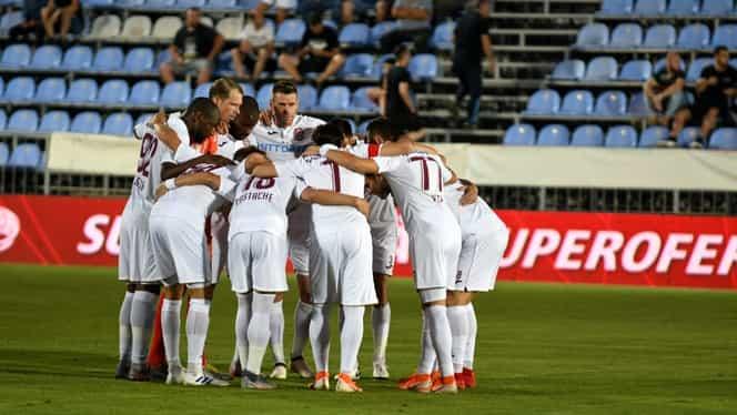Jucătorii lui CFR Cluj și-au asigurat prima promisă de oficialii din Gruia! Au încasat 5.000 de euro pentru victoria cu Rennes