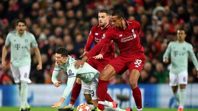 Liverpool – Bayern Munchen 0-0 în Champions League. Teama a dominat jocul de pe Anfield Road. Video