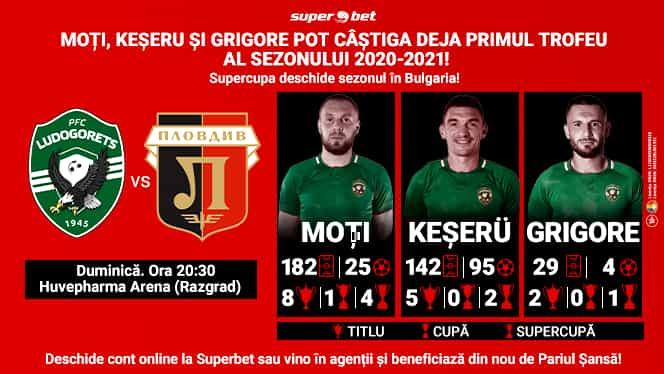 (P) Românii de la Ludogoreț nu se satură de trofee! Duminică îl pot câștiga pe al 16-lea pentru Razgrad. Plovdiv pare victimă sigură
