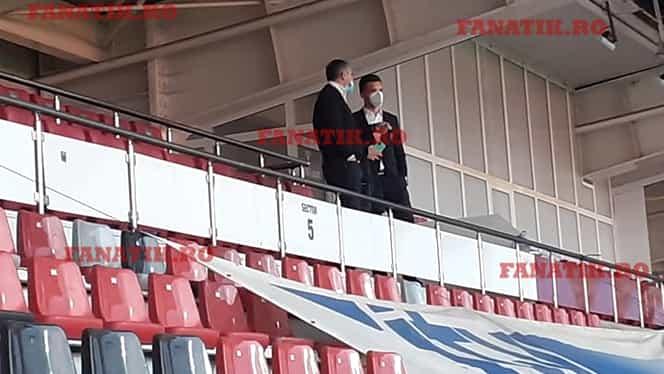 Marius Bilașco, întâlnire de gradul zero cu Alexandru Deaconu, șeful arbitrilor, înainte de derby-ul FCSB – CFR Cluj. Exclusiv